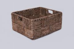 Úložný box KIM 41, vodný hyacint, natur, 2ks