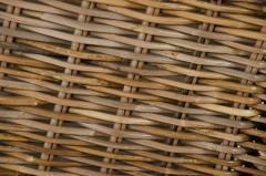 Truhla na bielizeň DIVIDE, ratan, výška 55 cm