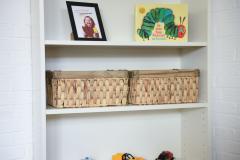 Úložné boxy z morskej trávy Seegras, prírodná farba, 2 ks