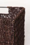 Úložné boxy z morskej trávy Seegras, hnedá farba, 2 ks